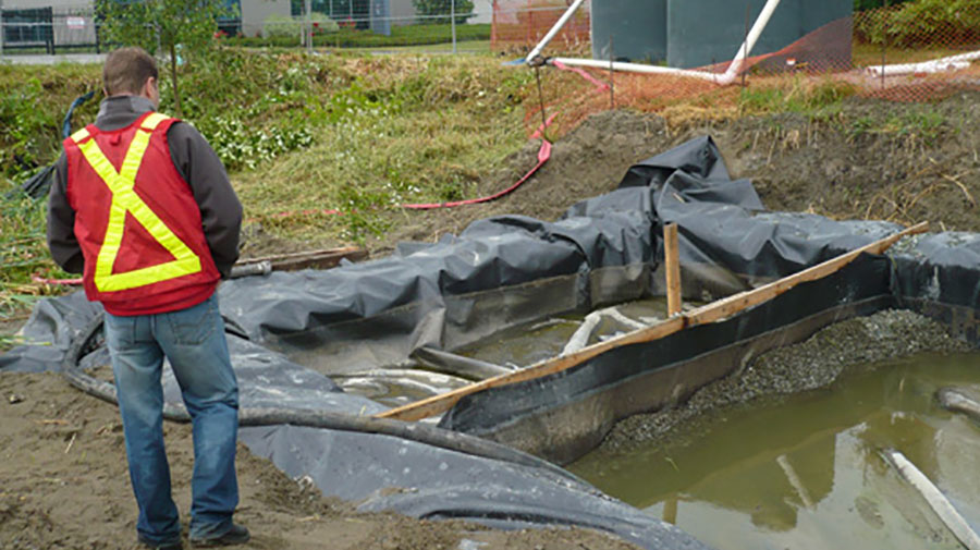 The End of the Sediment Pond?